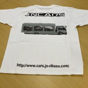 JNCARS JN ad track Tシャツ
