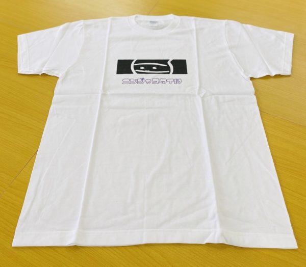Box Ninja 白Tシャツ
