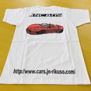 JNCARS フェラーリA Tシャツ