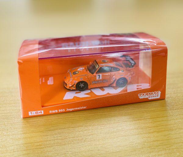 RWB 1:64 ミニカー オレンジ