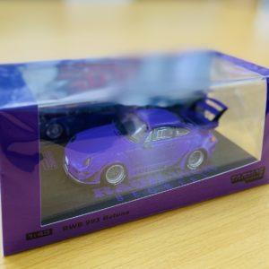 RWB 1:43 ミニカー 紫