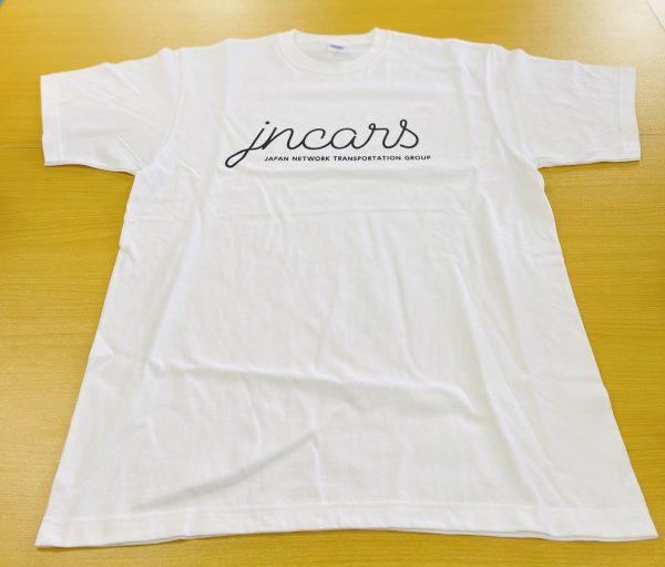 JNCARS 筆記体Tシャツ